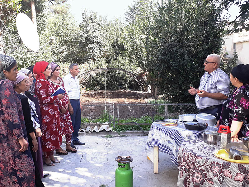 Nutrition Security for Mother and Child in Rural Areas in Tajikistan