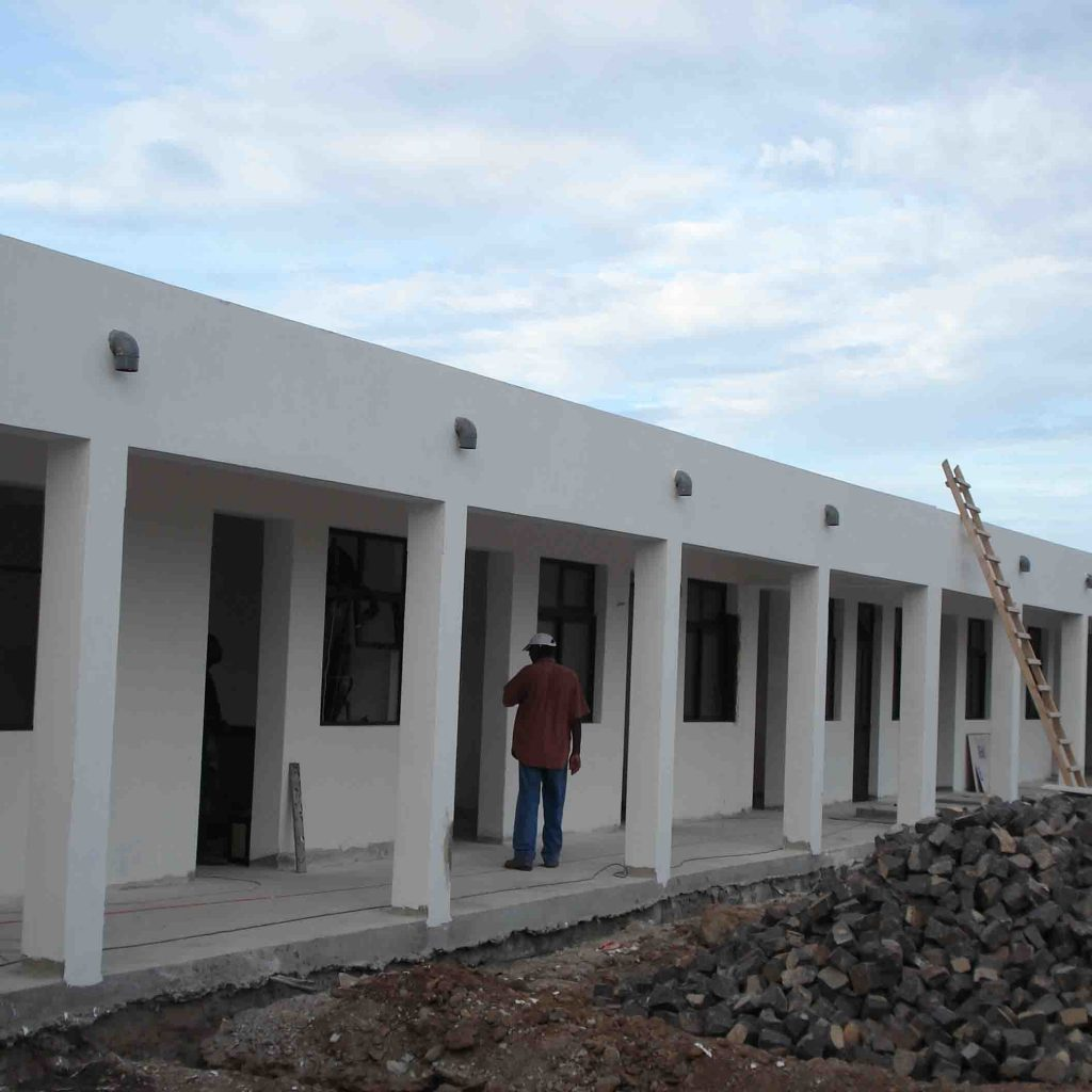 Construction Hospital Cape Verde