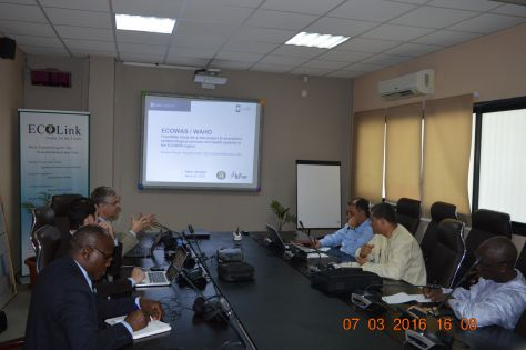 Feasibility study for a 'New project to strengthen epidemiological services and health systems in the ECOWAS region'