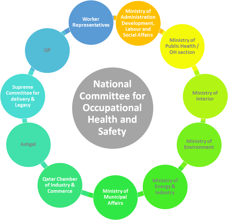 Support for Occupational Health Section with GIZ / SCH Qatar